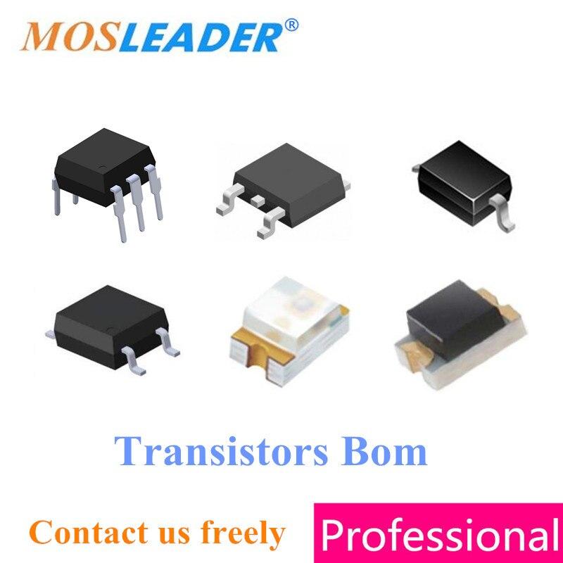 Transistor Mosleader Bom AO4407A 100 pz AO4466 200 pz AO6786 100 pz di Alta qualità Si Prega di contattare il servizio clienti liberamente