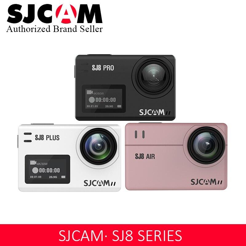 Promotion SJCAM 4 K caméra d'action WIFI télécommande étanche sport DV SJ8 série SJ8Air/SJ8Plus/SJ8Pro 1290 P Action C