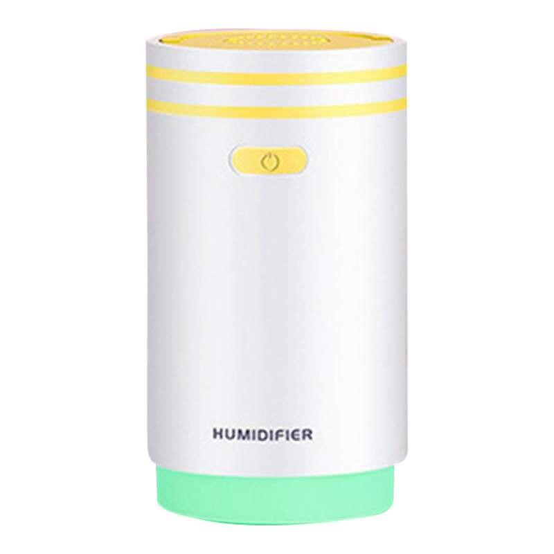 5 в 1 Мини увлажнитель воздуха тумана ночник ароматерапия вентилятор машины макияж зеркало спрей 5 функций-увлажнитель 280 мл - Цвет: Y