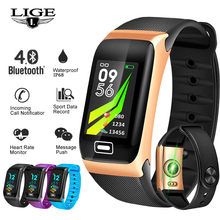 Get more info on the LIGE 2019 New Smart Bracelet Heart Rate Blood Pressure Monitor Sports Fitness Tracker  Pedometer Smart Band Smart wristband +Box