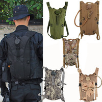 2 5L Tactical Outdoor Hydration Water Backpack Bag With Bladder 5 Colors Free Shipping Gib