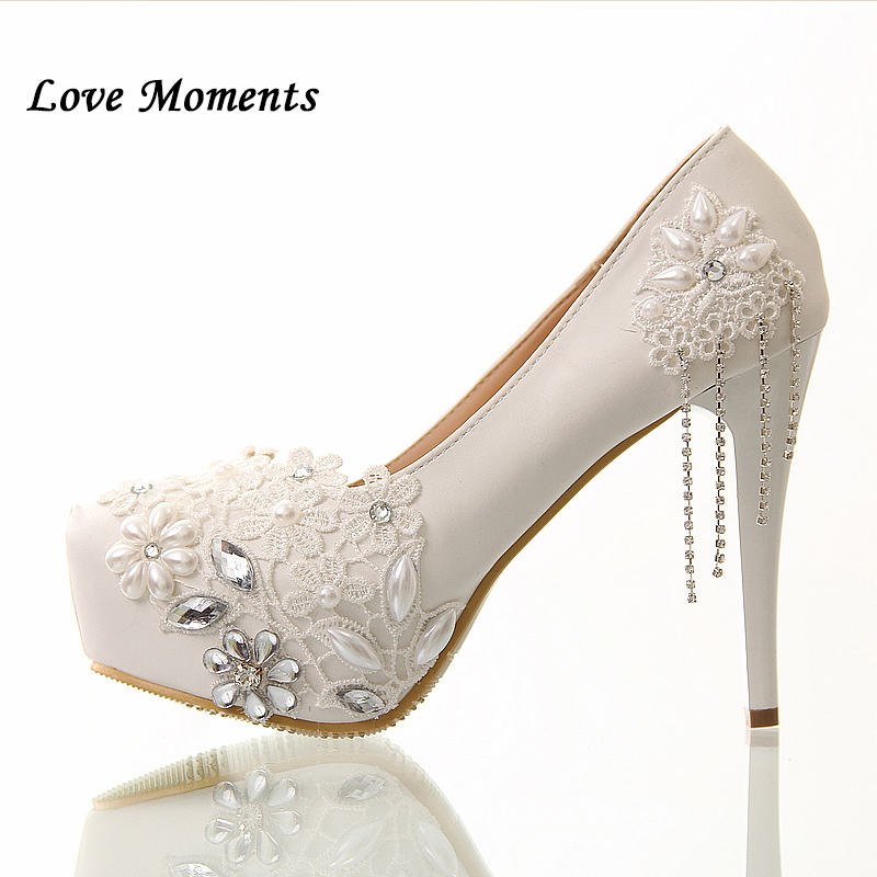 Zapatos solos de la borla de las mujeres Bombas bota feminina flor de - Zapatos de mujer