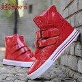 2017 de la moda de Justin Bieber zapatos famous stars street dance hip hop zapatos de Los Hombres zapatos casuales Ure 35-44 zapatillas deportivas