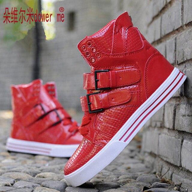 2017 fashion Justin Bieber shoes famous stars hip hop shoes Men street dance casual shoes Eru 35-44 zapatillas deportivas