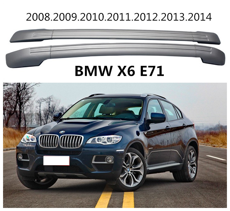 For BMW X6 E71 2008 2014 Roof Racks Auto Luggage Rack High Quality Brand New
