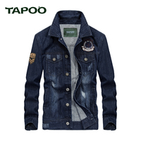 TAPOO 2017 Brand All Men Handsome Classic Pilot Jacket Men S Fashion Baseball Jacket High Quality