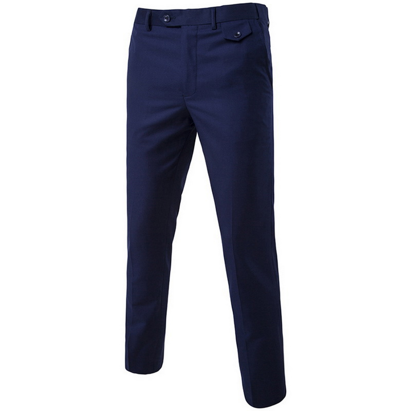 2019 High Quality Men Blazer Masculino Thin Suits Fashionable Clothes Slim Fit Three Pieces Suit Blazer (Jacket+Pants+Vest) Sets 2