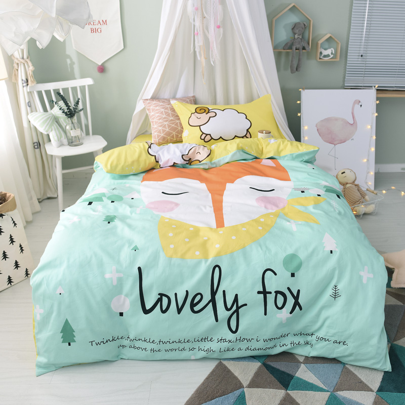 Svetanya Floral Bedding Set 100 Cotton Bedlinen 50% OFF flat Sheet Pillowcase Blanket Cover