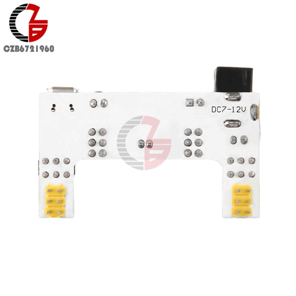 MB102 Breadboard Power Supply MODULE DC 7-12V Micro USB Interface MB-102 2 ช่อง Bread BOARD โมดูล