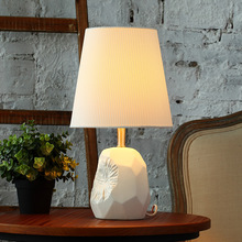 Tuda Free Shipping Remote Control Table Lamp Wite Ceramic Table Lamp  American Style Table Lamp For