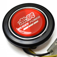 Red Aluminum Emblem ABS Steering Wheel Horns Button For Honda Accord CIVIC SI Element ACURA INTEGRA