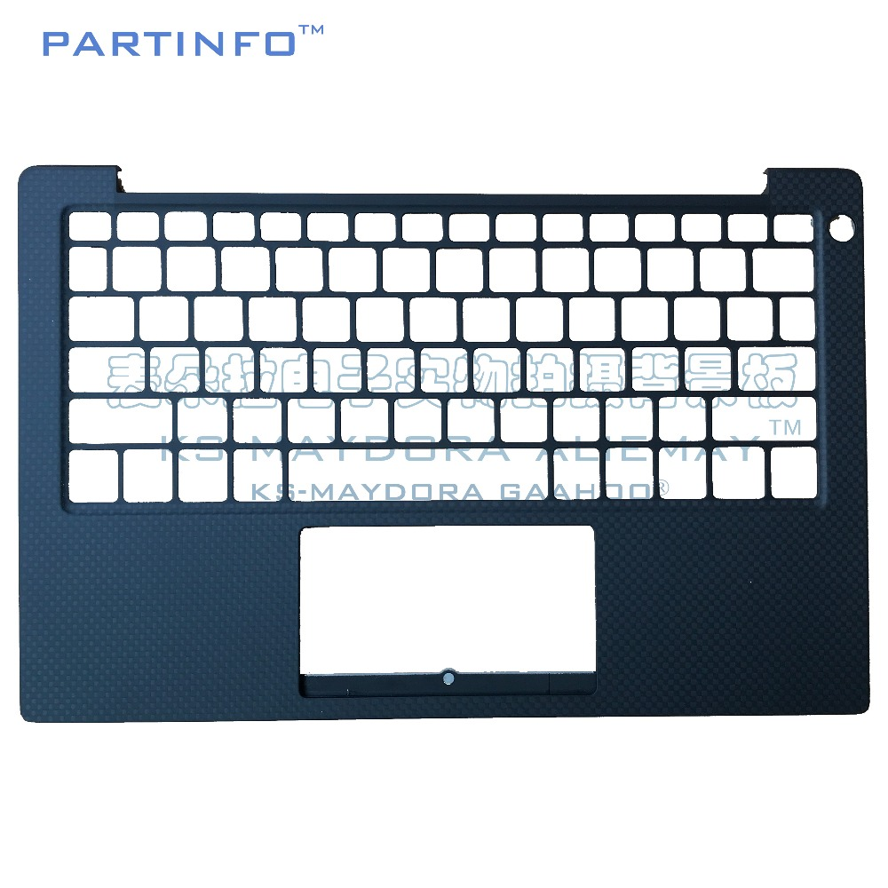 Laptop parts for DELL XPS13-9370 XPS 13 9370 palmrest type US keyboard 2NTHR 02NTHR laptop us keyboard for dell xps13 9343 9350 9360 backit keyboard touchpad and palmrest assembly