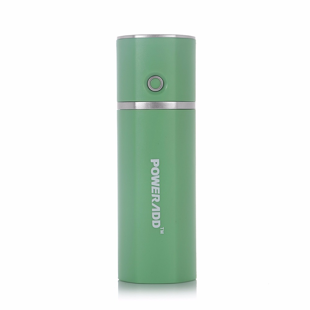 Poweradd Slim2 Power Bank 5000mAh Portable Charger External Battery Pack with Smart Charging for Mobile Cellphone Green