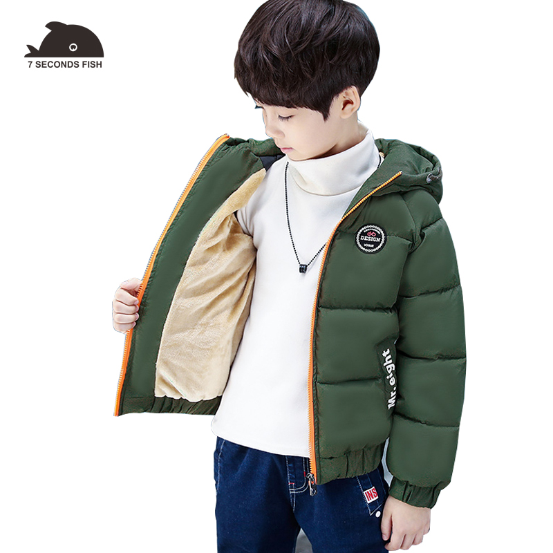 Children Outerwear Coat Winter Baby Boys Jackets Coat Infant Warm Baby parkas Thick Kids Hooded Clothes -10/-20 degree 2017 autumn kids clothes baby boys jackets winter coat corduroy thick warm children boys clothing fashion coat infant boys