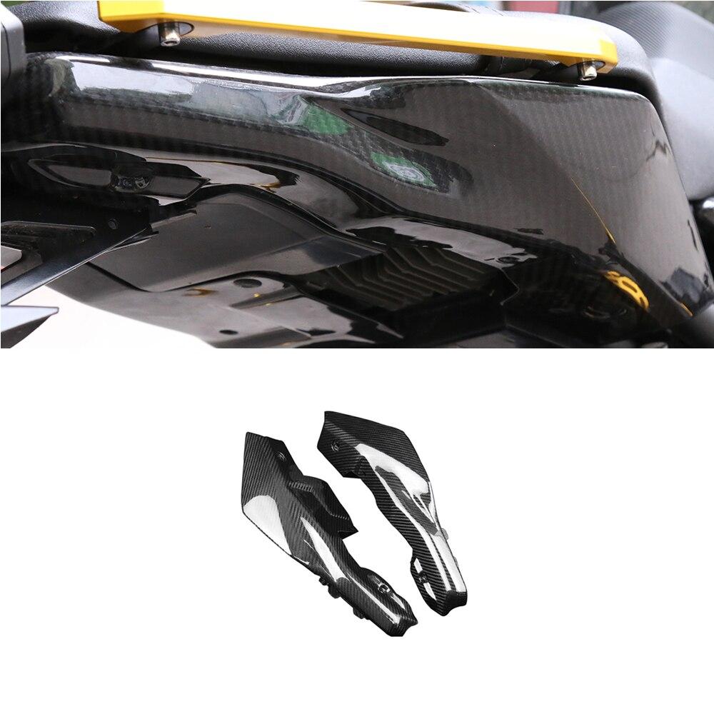 Real PrePreg Carbon Fiber (Dry Carbon) Rear Tail Side Panel Cowling Fairing For Yamaha MT-09 MT09 FZ09 FZ-09 2013-2017 Light