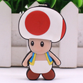 Cartoon 4GB 8GB 16GB 32GB Saudi Arabia Mushroom Men Model Super Mario USB flash drive 2.0 Pen memory U disk Pen Drive