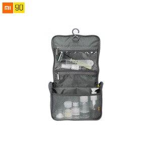 Image 1 - 샤오미 Mijia 90Fun 여행 가방 휴대용 나일론 패브릭 발수 대형 U 모양의 오프닝 디자인 하프 넷 스토리지 가방