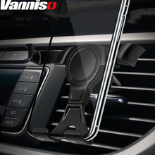 Vanniso Gravity Car Phone Holder For In Mount Stand Mobile iPhone X 7 Support Smartphone Voiture