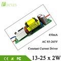 5pcs 13-25*2W LED Driver 26W 28W 30W 36W 40W 50W Lamp Driver Power Supply Lighting Transformer AC85-265V Output 450mA For 2 Watt