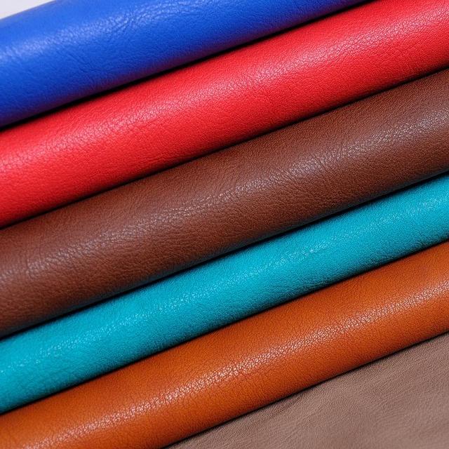 Tissu Du0027ameublement Pour Meubles 1.3 Mm épais En Relief Grain PU En Cuir /