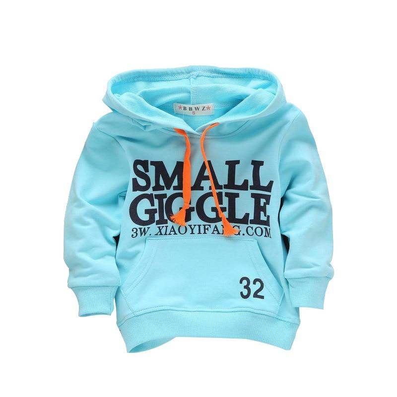 Spring Summer Children Sweatshirts 100% Cotton Boys Girls Hoodies 1-3 Years Kids Baby Boys & Girls Sweatshirt Infant Moletons