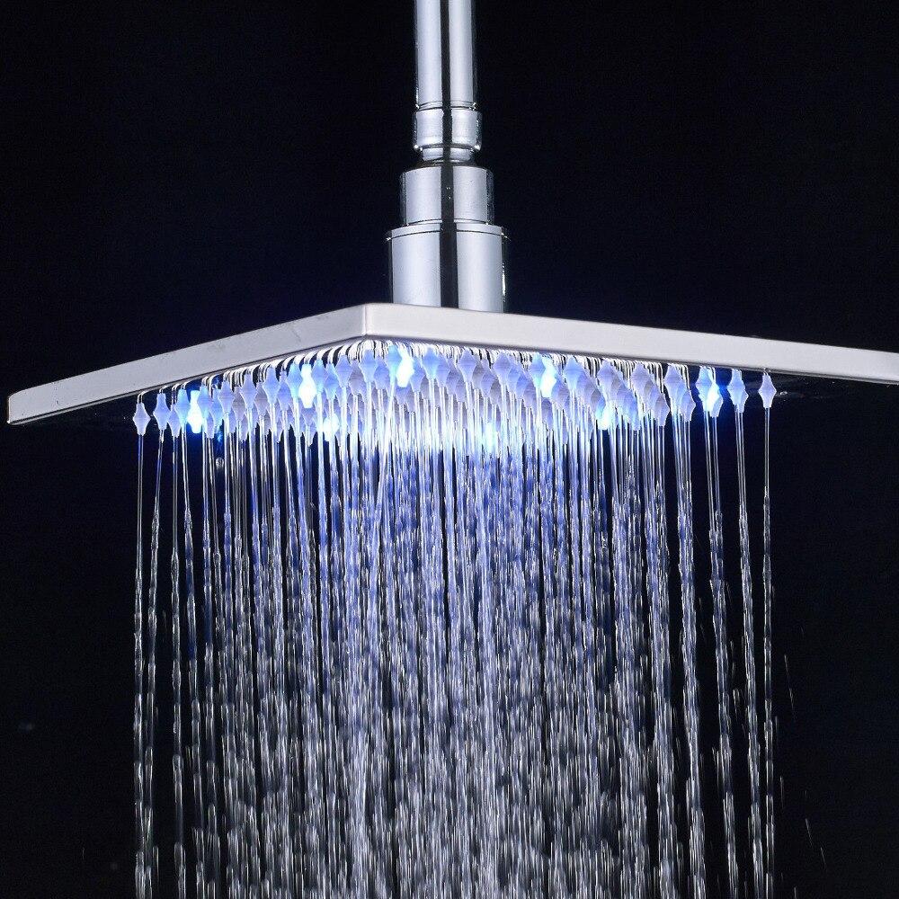 Brushed Nickel LED 8