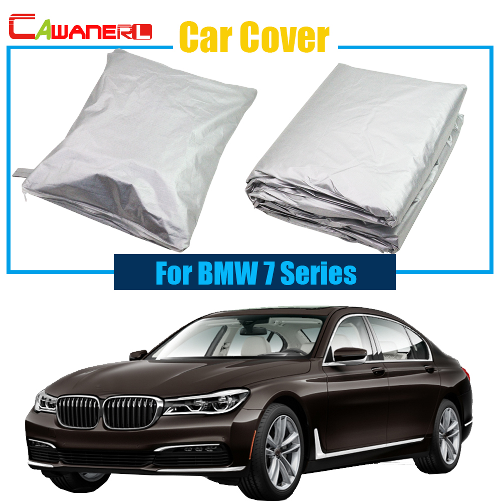 cawanerl carro estilo do carro capa anti uv chuva neve sol resistente sombra capa para bmw