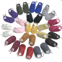 Top quality genuine leather Toddler Shoes Baptism Baby Moccasins Leather Toddler Moccasins Baby Oxford Shoes