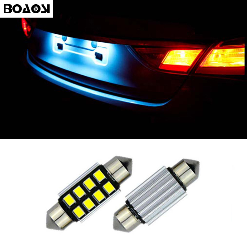 Fits Vauxhall Vectra MK2 1.9 CDTI White 12-SMD LED COB Number Plate Light Bulb