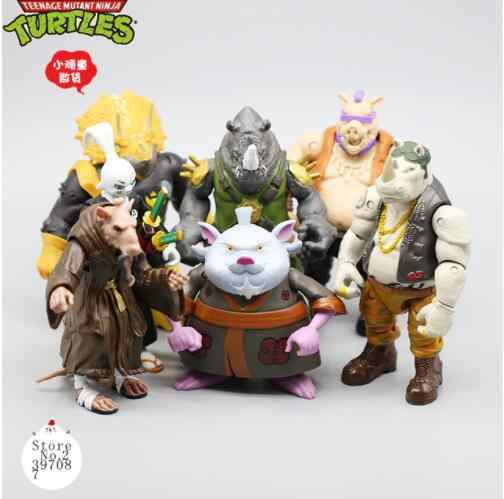 Mutant Ninja villain หมูแรด RAT Rabbit Action FIGURE T