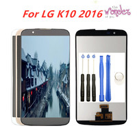 Full LCD Display For LG K10 LCD Touch Screen Digitizer Assembly For LG K10 2016 LCD Display K410 K430 K430DS K420N 420N K10 5.3