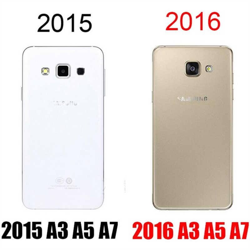 لسامسونج غالاكسي A3 A5 A7 J1 J3 J5 J7 2016 الزجاج المقسى واقي للشاشة الزجاج لسامسونج S5 S4 S3 غشاء واقي صغير
