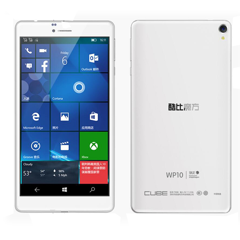 IN stock CUBE WP10 Tablet PC 6 98 inch IPS Screen Qualcomm MSM8909 Quad Core 1
