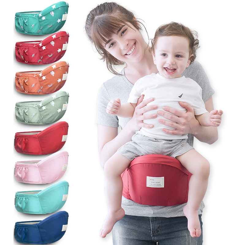 Baby Carrier Backpack Hipseat-Belt Hold Waist-Stool-Walkers Infant Kids 70-120cm 45-Degree