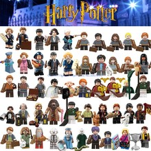 For Legoing Harri potter Figures Fantastic Beasts Hagrid Seamus Hermione Finnigan Rubeus Dobby Bricks Model building Blocks Toys(China)
