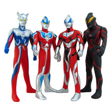 30cm Soft rubber monster toy ultraman child simulation Model doll joint movable