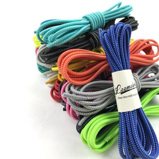 2016 nouveau drôle gadgets de verrouillage pratique coloré élastique aucun lien silicone lacets paresseux lacets pour sneaker