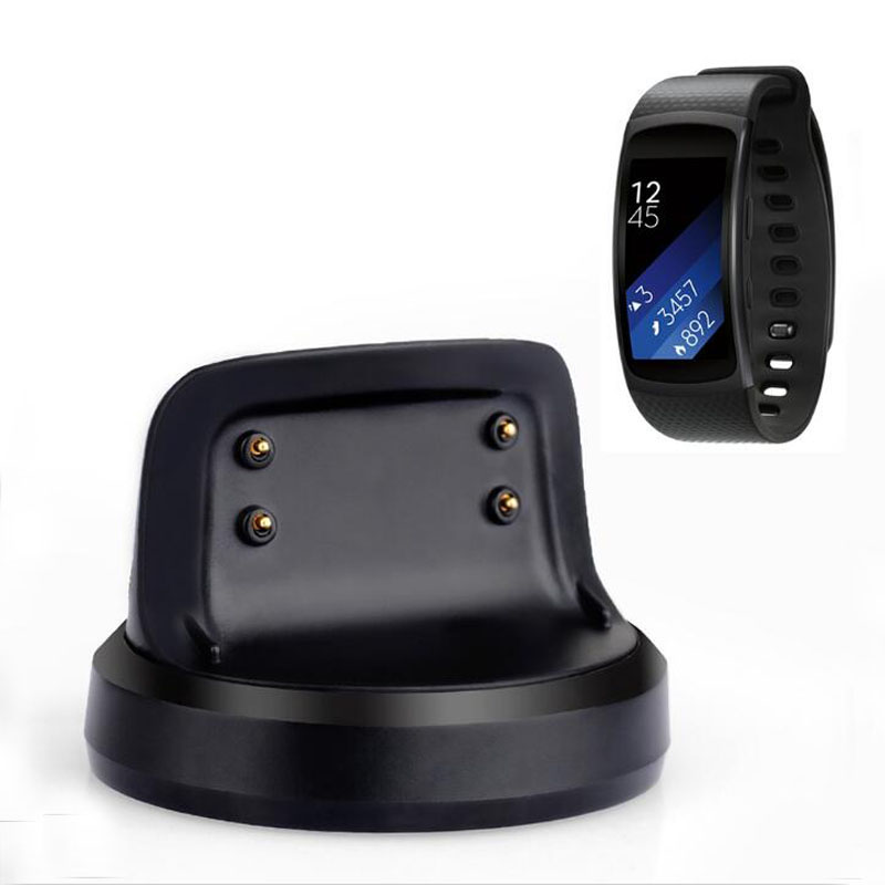 USB Dock Charger Adapter For Samsung Galaxy Gear Fit 2 R360 / Fit2 Pro R365 Smart Bracelet Wristband Charging Cable Cord Stand
