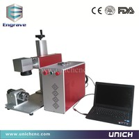 Jinan Cheap Professional Fiber Mark Laser Marking Machine