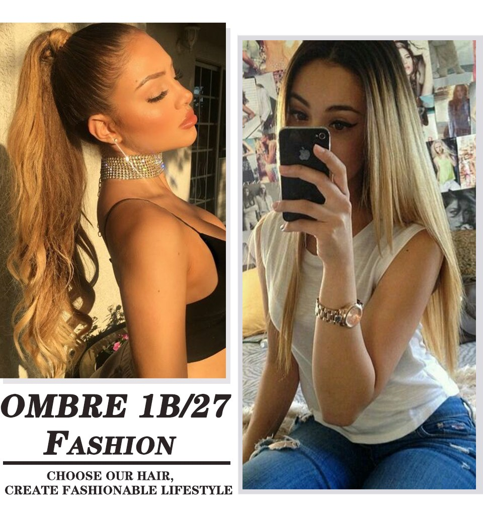 ombre brazilian hair