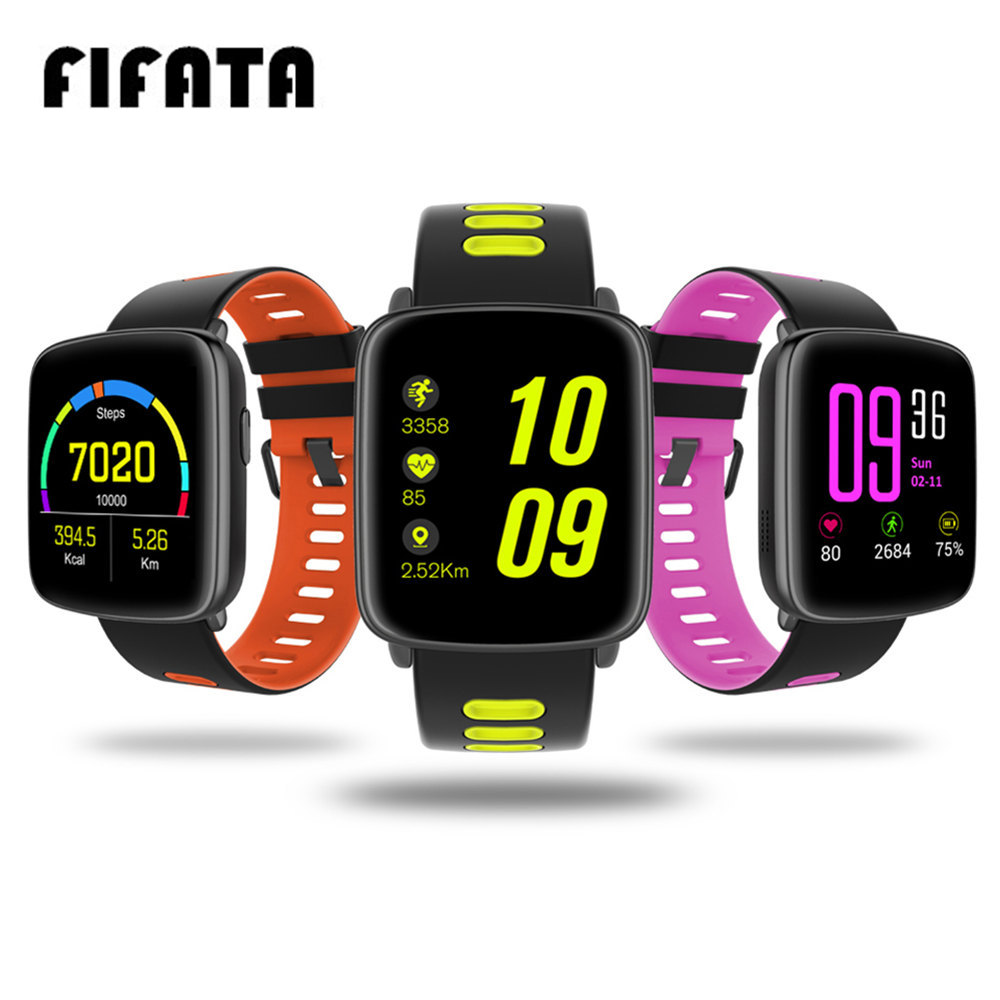 FIFATA GV68 Smart Watch IP68 Waterproof MTK2502 Bluetooth Connectivity Wearable device Heart Rate for Android IOS