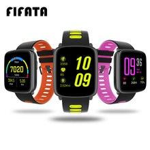 Fifata GV68 Смарт-часы IP68 Водонепроницаемый MTK2502 Bluetooth Подключение Носимых устройств сердечного ритма для Android IOS SmartWatch