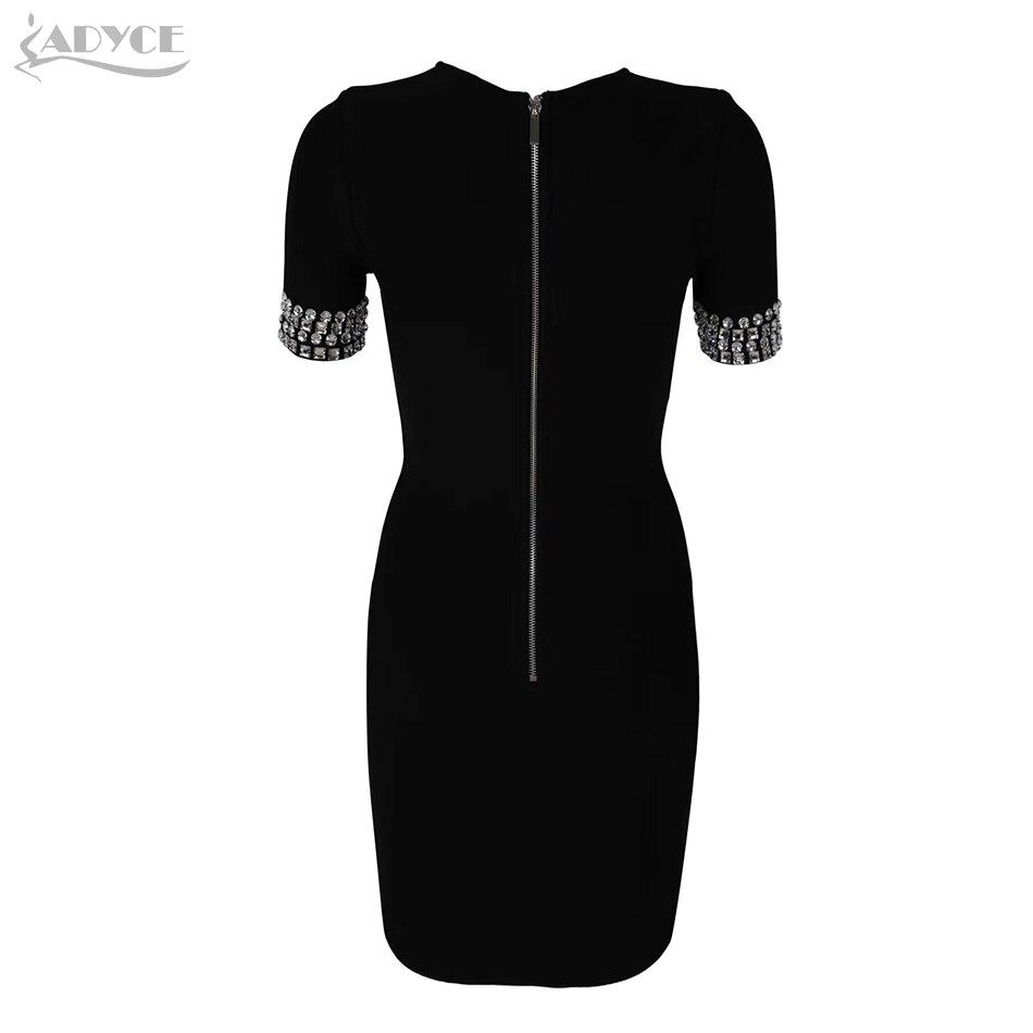 Women Bandage Dress black Fashion Lady Dress Vestidos 2019 New Fashion Party Dresses