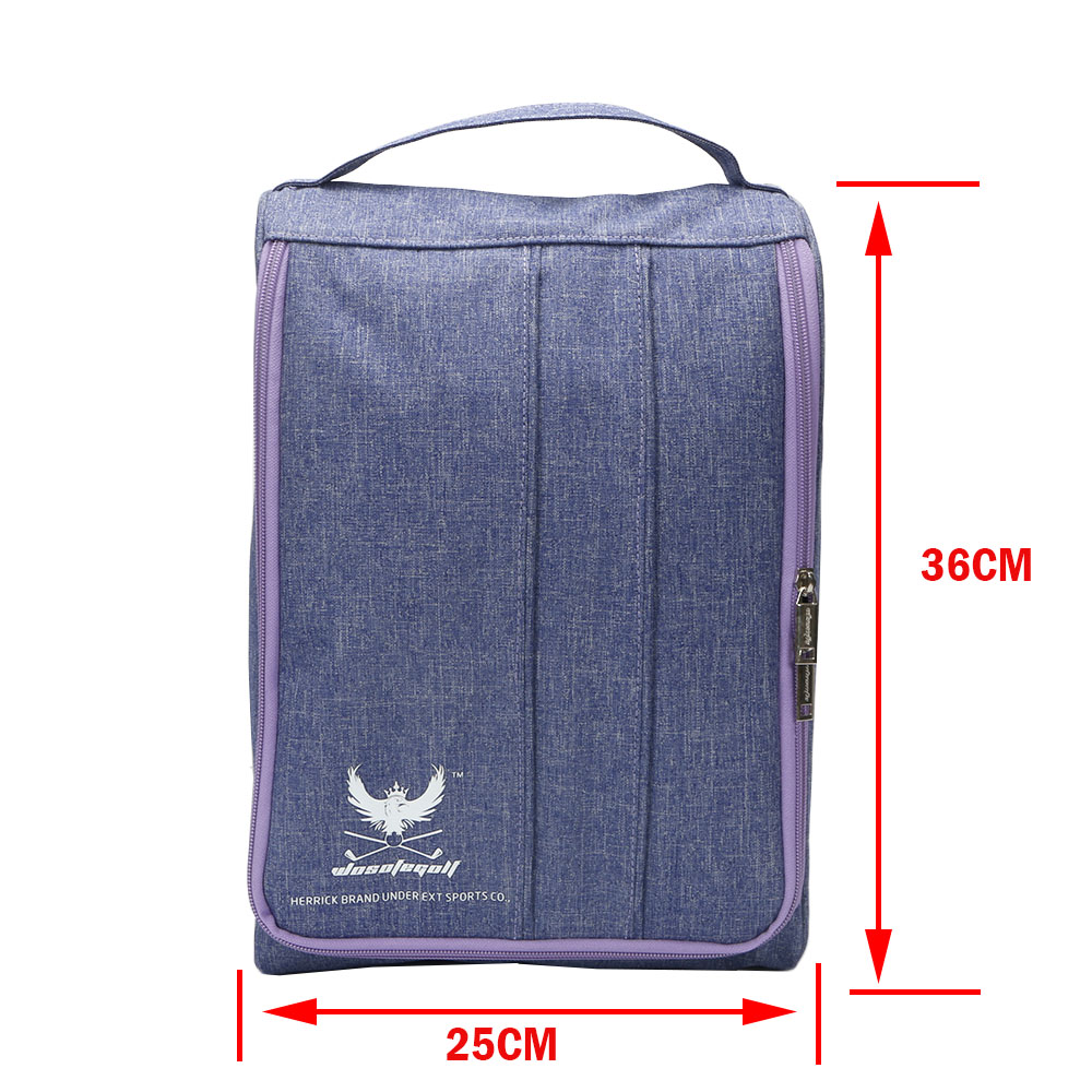 Купить с кэшбэком Golf bag Sport Shoes bag Big capacity Light Practical Travel Pack Shoe Pouch Waterproof Dustproof shoes bag