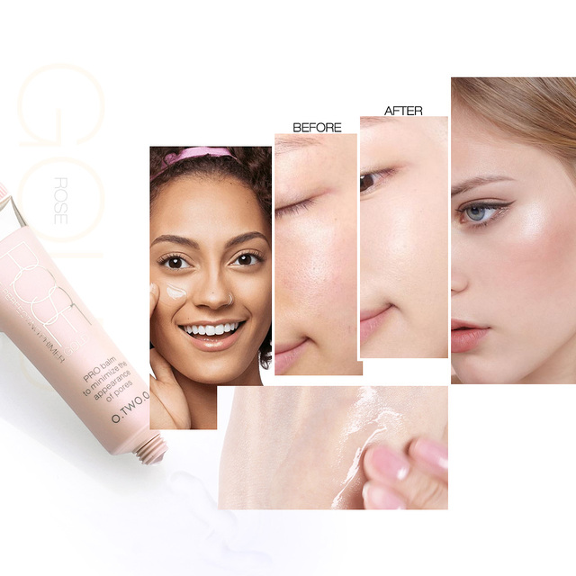 O.TWO.O Professional Make Up Base Foundation Primer Makeup Cream Sunscreen Moisturizing Oil Control Face Primer 2