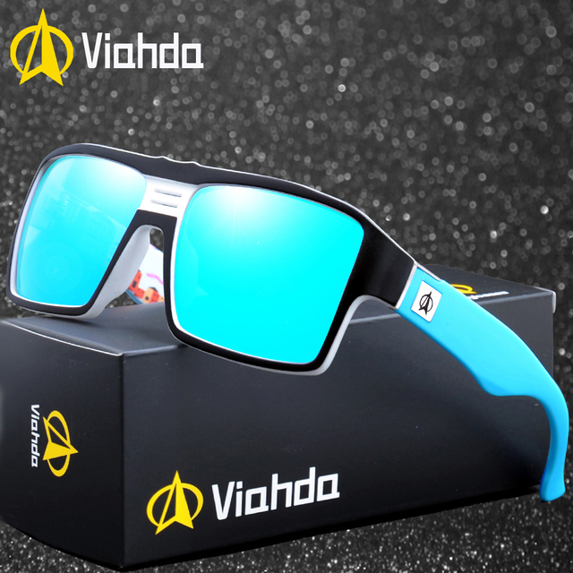 7a40b5e234 Viahda new Polarized Sunglasses Men Driving Shades Male Sun Glasses For  Men's Retro Luxury Brand Designer -in Sunglasses from Apparel Accessories on  ...