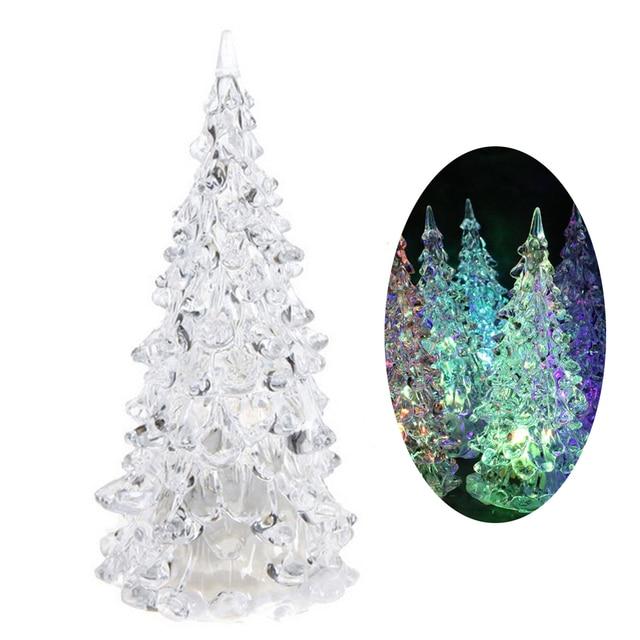 christmas tree light seasonal lighting mini led nursery night lights decorations for home holiday kids room