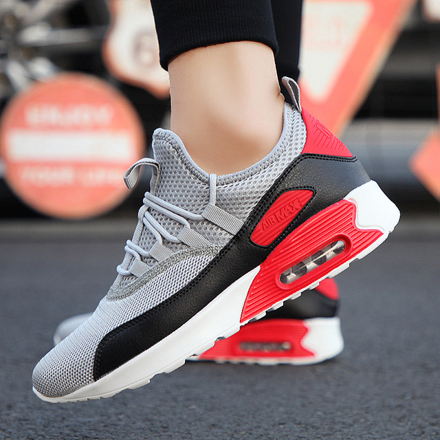 018dd17e6 Male Running Shoes Men S Breathable Mesh Outdoor Sports Shoes Spring Summer  Men S Air Cushioning