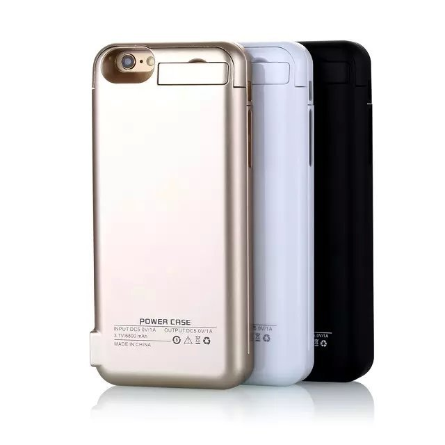 bilder für Für Iphone6 6 s/6 Plus 6 s Plus 5800 mAh/82000 mah wiederaufladbare Externes Ladegerät Power Bank batteriekasten für iphone6