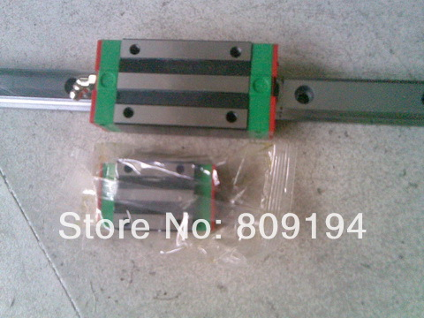 750mm HIWIN EGR20 linear guide rail from taiwan free shipping to argentina 2 pcs hgr25 3000mm and hgw25c 4pcs hiwin from taiwan linear guide rail